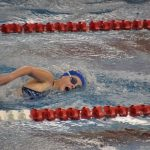 Girls Swimming and Diving Drops Mudsock Battle 114-72