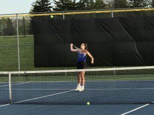 Lady Royals Tennis vs. Noblesville (4-18-17)