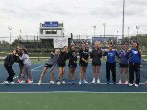 HSE Lady Royals Tennis vs. Brownsburg
