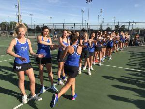 HSE Lady Royals Tennis Vs. Avon (4-24-17)