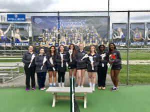 HSE Lady Royals Tennis – Senior Night vs. LN (5-2-2017)