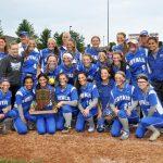 Hamilton Southeastern High School Varsity Softball beat Fishers High School 10-2