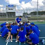 Hamilton Southeastern High School Boys Varsity Tennis falls to Carmel High School 4-1