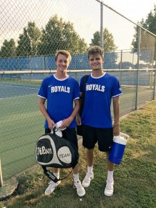 HSE Boys Tennis vs. Carmel (8-15-17)