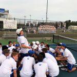 Hamilton Southeastern High School Boys Varsity Tennis falls to Guerin Catholic High School 3-2