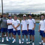 Hamilton Southeastern High School Boys Varsity Tennis beat Lebanon High School 4-1