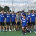 Hamilton Southeastern High School Boys Freshman Tennis falls to Zionsville High School 7-2