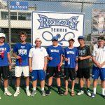 Hamilton Southeastern High School Boys Varsity Tennis finishes 3rd place