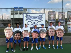 HSE Boys Tennis vs. Cathedral (Senior Night) 9-20-17