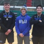 Hamilton Southeastern High School Boys Varsity Wrestling finishes 2nd place