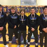 Boys Varsity Wrestling finishes 3rd place at Hamilton County Championships @ Guerin Catholic High School