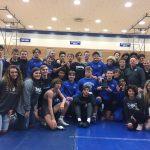 Boys Varsity Wrestling beats Fishers 50 – 18