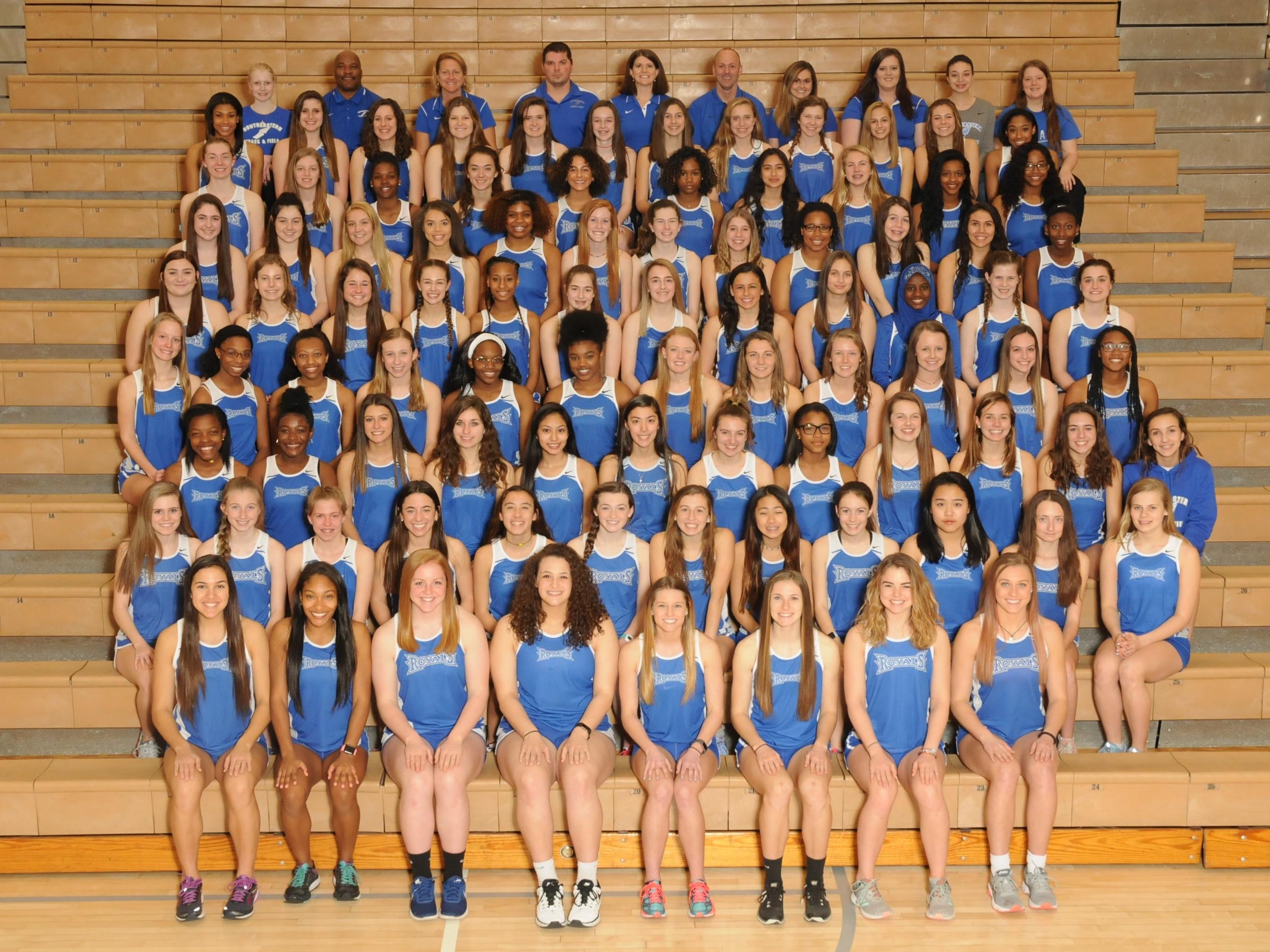 2018 Girls Track & Field Team #WeAreRoyals