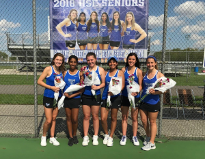 HSE Lady Royals Tennis – Senior Night