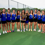 Girls Varsity Tennis Defeats Fishers 5 – 0 to Win 5th Straight Sectional Title!