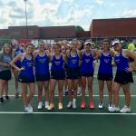Girls Varsity Tennis beats Lawrence North 5 – 0