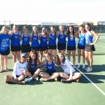 Girls Varsity Tennis falls to Cathedral 4 – 1