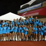 Girls Varsity Track finishes 1st place at IHSAA State Championships