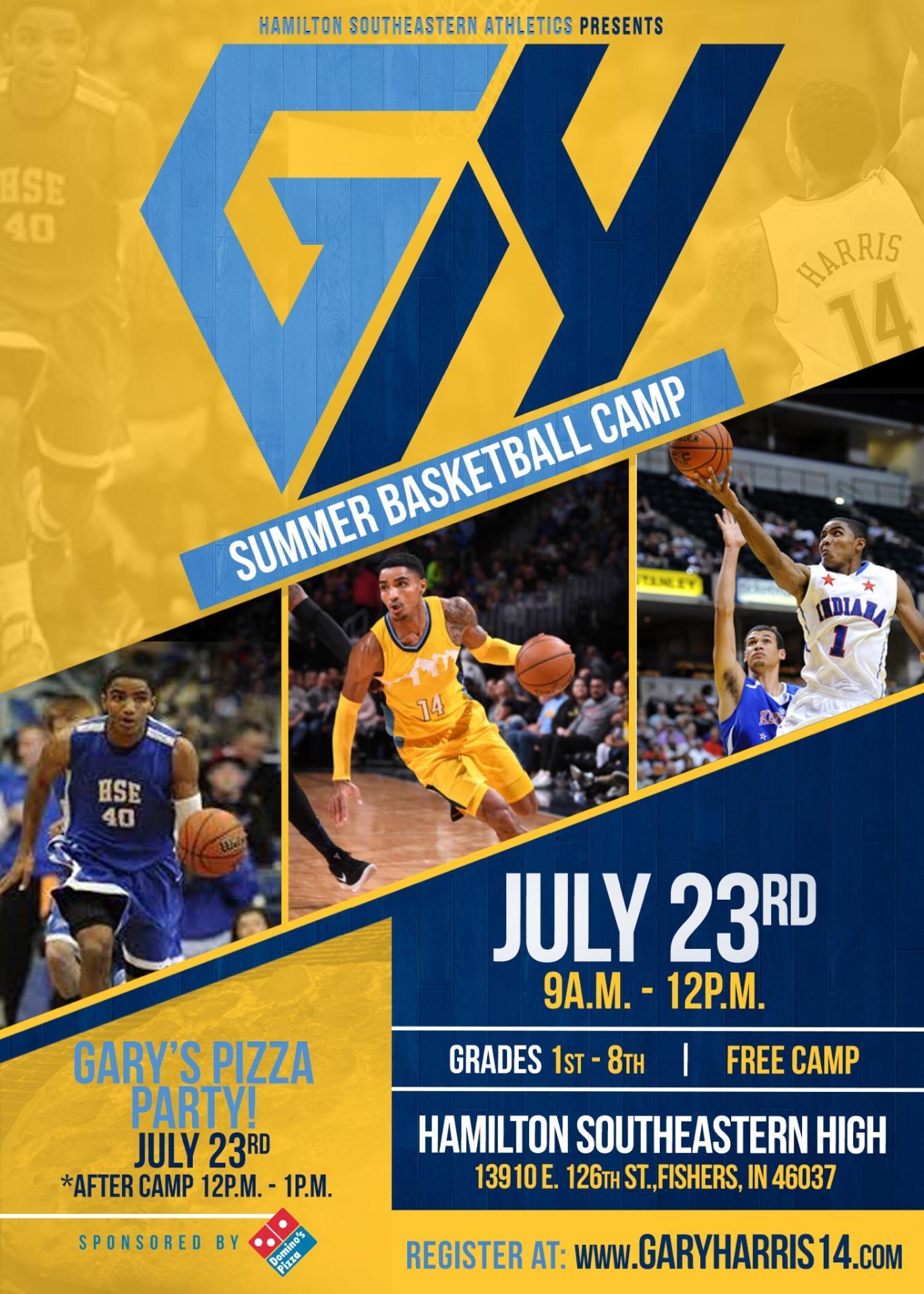 Gary Harris Basketball Camp at HSE