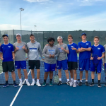 Boys Varsity Tennis finishes 4th place at Carroll High School Invitational
