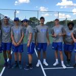 HSE Boys Varsity Tennis Defeats Noblesville 5 – 0