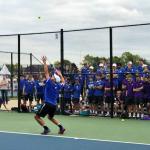 HSE Boys Varsity Tennis  Defeats #18 Guerin Catholic 5 – 0