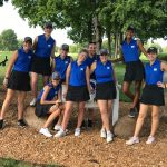 Girls Varsity Golf finishes 1st place at IHSAA Sectional