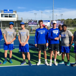 HSE Boys Varsity Tennis Defeats Noblesville 5-0 to Advance to Sectional Final