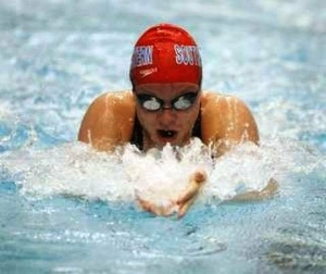 HSE Alum Lindsay Rogers Benson – Indiana High School Swimming & Diving Hall of Fame!