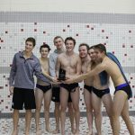 HSE Boys Swimmers and Divers win Mudsock Battle!