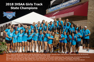Girls Track State Champ and Runner Up Photos