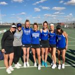 Girls Varsity Tennis falls to North Central 3 – 2