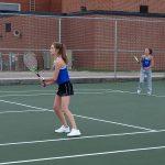 Girls Junior Varsity Tennis beats North Central 10 – 7