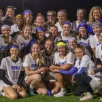 Girls Varsity Lacrosse Keeps Mudsock Trophy