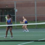 Girls Junior Varsity Tennis beats Franklin Central 9 – 5