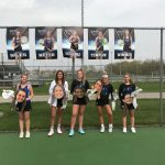 HSE Girls Varsity Tennis falls to Lawrence North 3 – 2