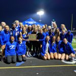 Girls Track wins HCC Meet