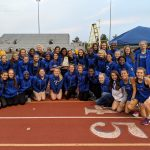 Girls Track Wins Hamilton County Meet for first time since 2014