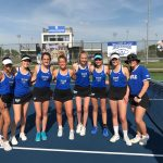 HSE Girls Varsity Tennis falls to Carmel 4 – 1