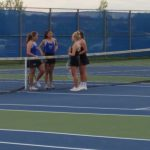 Girls Junior Varsity Tennis beats Mt. Vernon High School 9 – 1