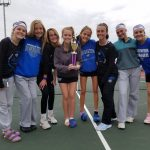 Girls Junior Varsity Tennis finishes 1st place at Brownsburg JV Invitational