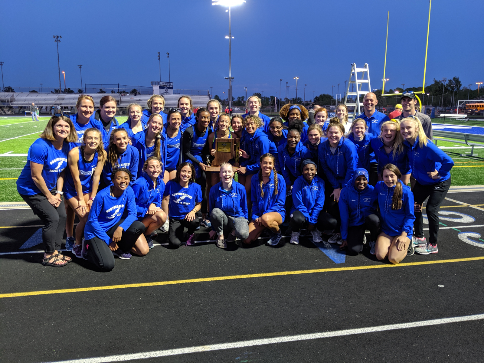 Girls Track Wins 4th Straight Sectional Title