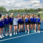 HSE Girls Varsity Tennis beats Noblesville 5 – 0 to Advance To Sectional Final