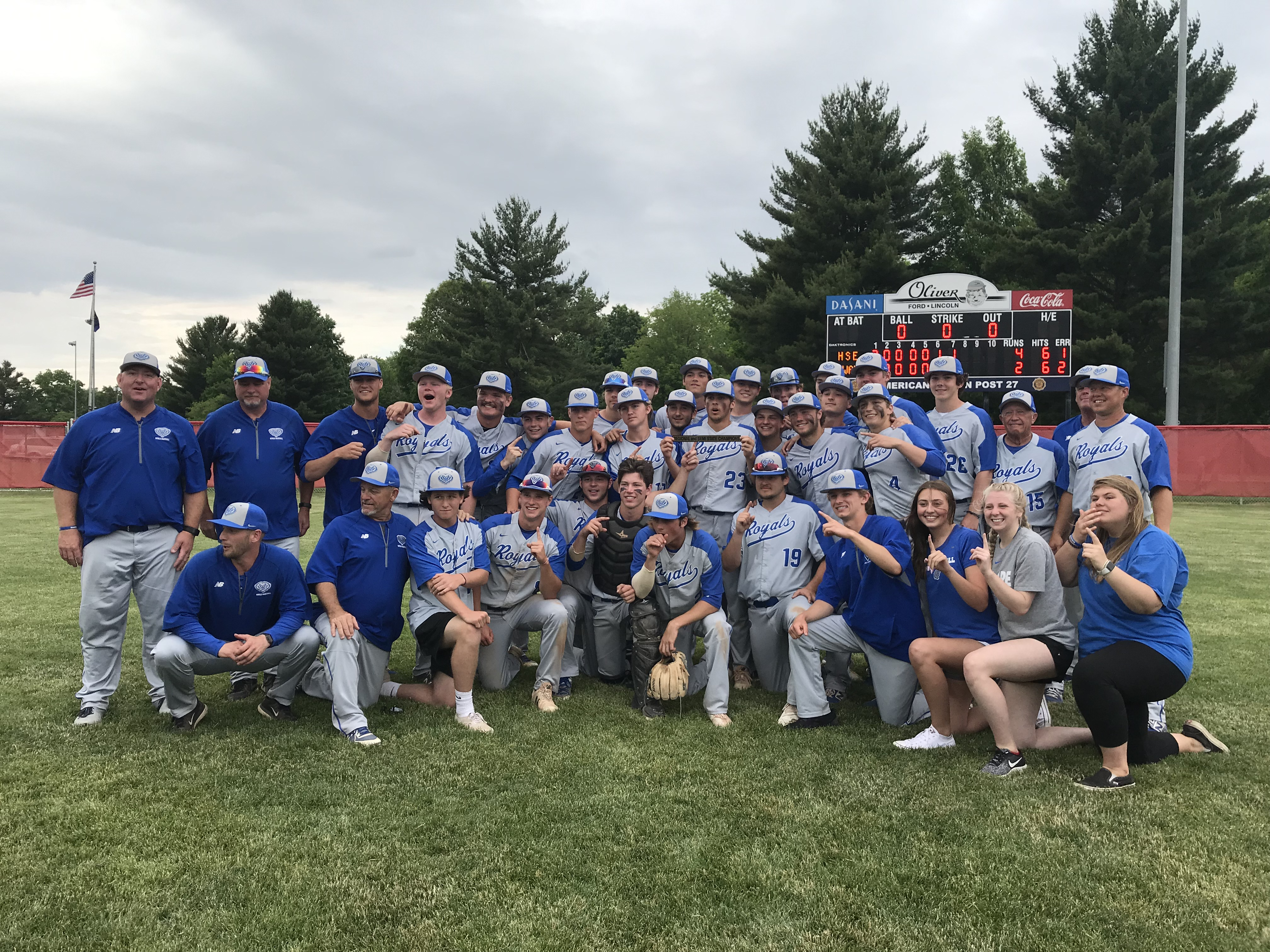 Hamilton Southeastern Royals Varsity Walks Away Victorious Over Mishawaka, 4-2 in Semi-State Championship