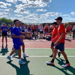 HSE Boys Varsity Tennis falls to Fishers 3 – 2