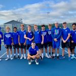 HSE Boys Varsity Tennis finishes 3rd place at Carroll High School Invitational