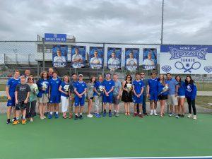 Boys Tennis – Senior Night (9-25-19)