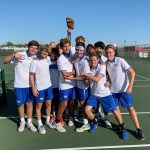 HSE Boys Varsity Tennis defeats Mt. Vernon to Advance to Regional Final