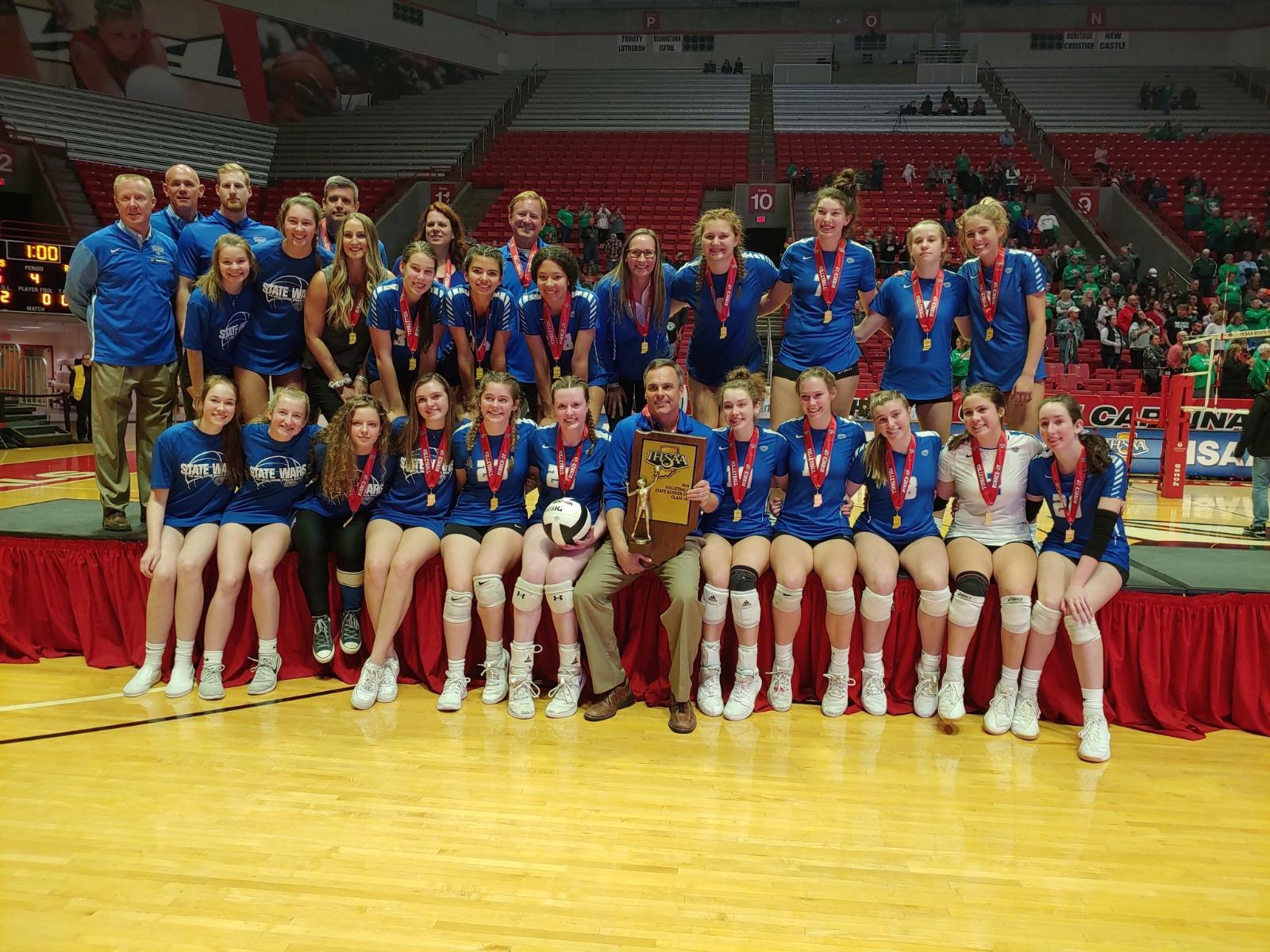 Congratulations Hamilton Southeastern Volleyball – 2019 State Runner-up