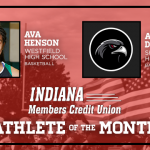 And the Indiana Members Credit Union November Athlete of the Month is….